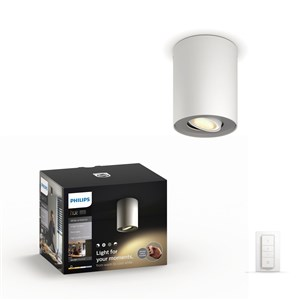 Image of   Hue Pillar White Amb single Vi