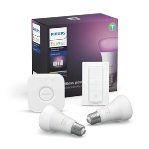 Image of   Hue Startkit White/Color 2xE27