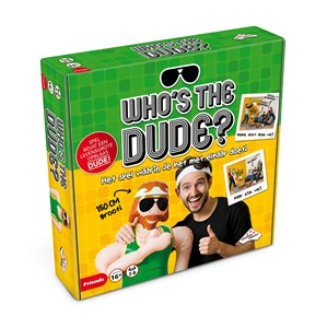 Identity Games Who's the Dude? Party card game