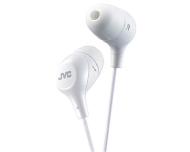 JVC in-ear høretelefoner. Hvid
