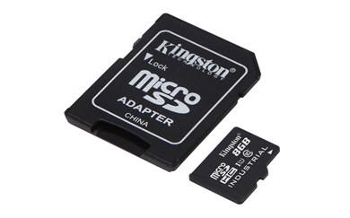 Industrial Temperature microSD UHS-I 8GB hukommelseskort Klasse 10