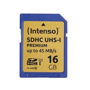 Image of   16GB SDHC hukommelseskort Klasse 10 UHS