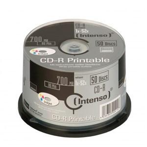 Image of   1801125 blank CD CD-R 700 MB 50 stk