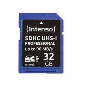 Image of   32GB SDHC hukommelseskort Klasse 10 UHS