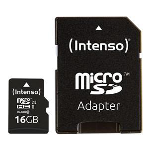 Image of   3433470 hukommelseskort 16 GB MicroSDHC Klasse 10 UHS-I