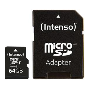 Image of   3433490 hukommelseskort 64 GB MicroSDXC Klasse 10 UHS-I