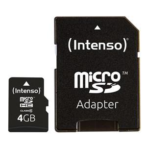 Image of   4GB MicroSDHC hukommelseskort Klasse 10