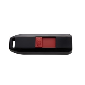 Image of   64GB USB2.0 USB-nøgle USB Type-A 2.0 Sort, Rød