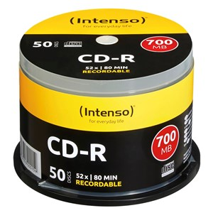 Image of   CD-R 700MB 50 stk