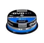 Image of   DVD+R 4.7GB, Printable, 16x 4,7 GB 25 stk