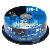 Image of   DVD+R 8.5GB 8x Double Layer 25er Cakebox 8,5 GB 25 stk