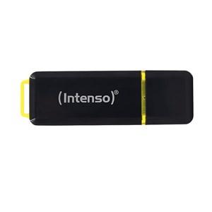 Image of   High Speed Line USB-nøgle 128 GB USB Type-A 3.2 Gen 1 (3.1 Gen 1) Sort, Gul