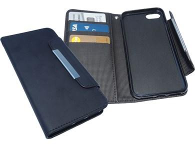 iPhone 8/7 Flip Wallet, Black