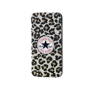 iPhone 6/6S Booklet Leopard Canvas
