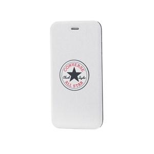 iPhone 6/6s PLUS Booklet Hvid Canvas