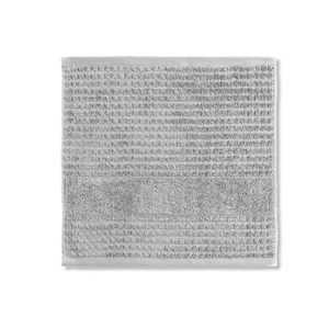 Image of   Check vaskeklud, 30 x 30, Lysgrå.