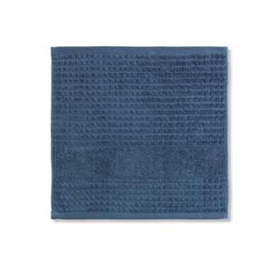 Image of   Check vaskeklud, 30 x 30, Mørk blå.