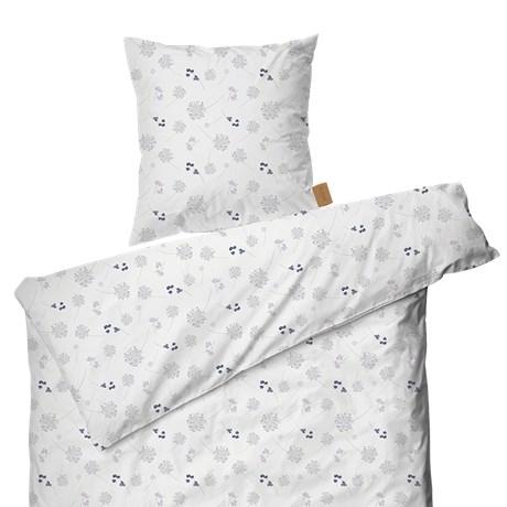 Fremragende Juna Floral Sengesæt, 140x200 cm, lys lilla sengetøj - Skiftselv.dk UK83