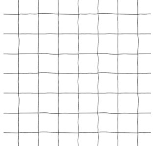 Image of   Grafico, Dæk, 30x45, hvid