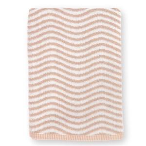 Image of   Ocean håndklæde. 70 x 140. Lilla/lys grå.