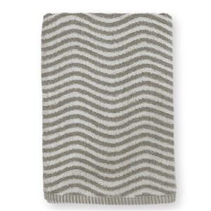 Image of   Ocean håndklæde. 70 x 140. Mørkgrå/lysgrå.