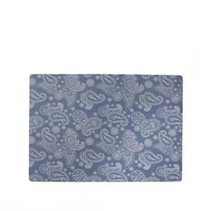 Image of   Paisley dækkeserviet. Blå. 43 x 30 cm.