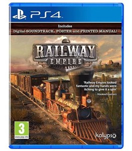 Kalypso Railway Empire, PS4 videospil PlayStation 4 Basis Engelsk