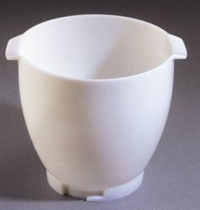 Hvid, plastskål 6,7 L (26538)