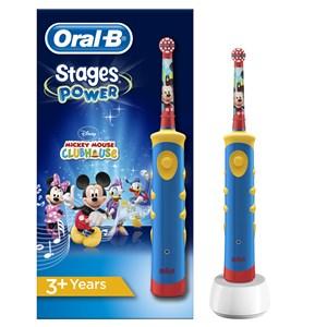 Image of   Kids Mickey Mouse Barn Roterende, pulserende tandbørste Flerfarvet