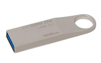 DataTraveler SE9 G2 128GB USB-nøgle USB Type-A 3.2 Gen 1 (3.1 Gen 1) Sølv