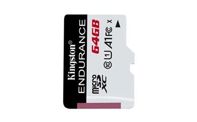 High Endurance hukommelseskort 64 GB MicroSD Klasse 10 UHS-I