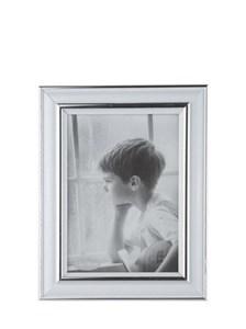 Image of   102420 billedramme Sølv, Hvid Enkelt billedramme