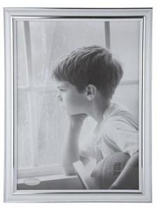 Image of   102423 billedramme Sølv, Hvid Enkelt billedramme
