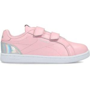 Image of   Kondisko til Børn Reebok Royal Complete Clean 2 Velcro Pink Sølvfarvet 35