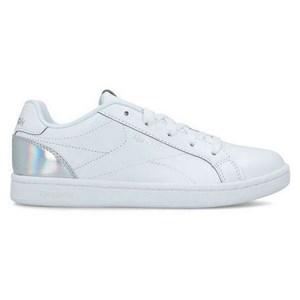Image of   Kondisko til Børn Reebok Royal Complete Clean Junior Hvid Sølvfarvet 32,5