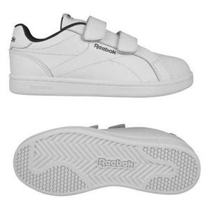 Image of   Kondisko til Børn Reebok Royal Complete Clean Velcro Hvid 35