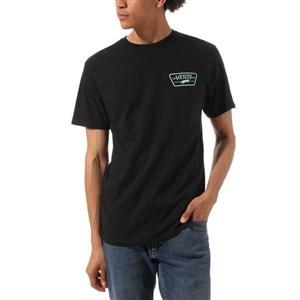 Kortærmet T-shirt til Mænd Vans Full Patch Sort M