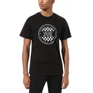 Kortærmet T-shirt til Mænd Vans OG CHECKER SS Sort S