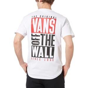Kortærmet T-shirt til Mænd Vans OTW NEW STAX SS Hvid S