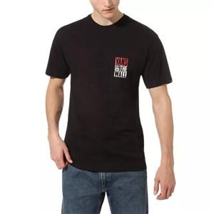 Kortærmet T-shirt til Mænd Vans OTW NEW STAX SS Sort S