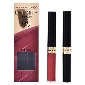 Kosmetik sæt til kvinder Lipfinity Max Factor (2 pcs) 330 - essential burgundy