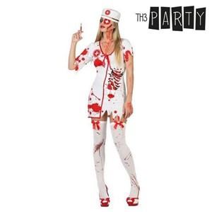 Image of   Kostume til voksne Blødende sygeplejerske (3 Pcs) XL