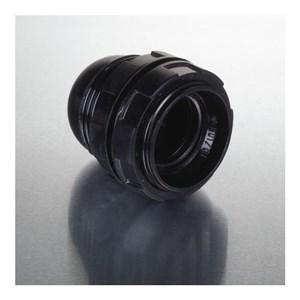 Image of   Lampefatning E27 m/ringe til lampeskærm, sort