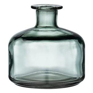 Image of   Aliana Vase 12,5 cm. Mørkegrøn Glas Ø12X12.5 cm