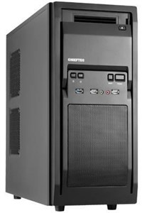 Chieftec LF-02B-OP computer case Midi-Tower Black