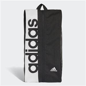 Image of   Linear Performance Shoe Travel bag Black,White Polyester