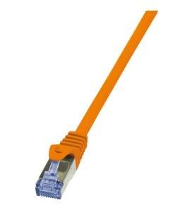 Billede af 1.5m Cat7 S/FTP netværkskabel Orange 1,5 m S/FTP (S-STP)