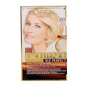 L'Oreal Make Up Permanent Anti-Age Farve Excellence Age Perfect L'Oreal Expert Professionnel Lys gylden blond
