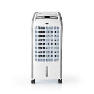 Billede af Mobil Air Cooler | Vandtanks kapacitet: 3 l | Blæserhastighed: Høj/Mellem/Lav | 270 m³/h | Svingning | Fjernbetjening | Shut-off timer