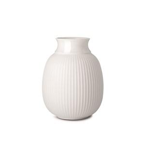 Image of   Curve Vase H17,5 hvid porcelæn
